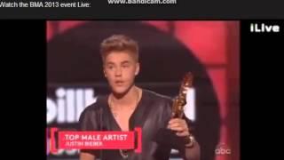 Justin Bieber - WINNER OF FAVORITE MALE Billboard Music Awards 2013