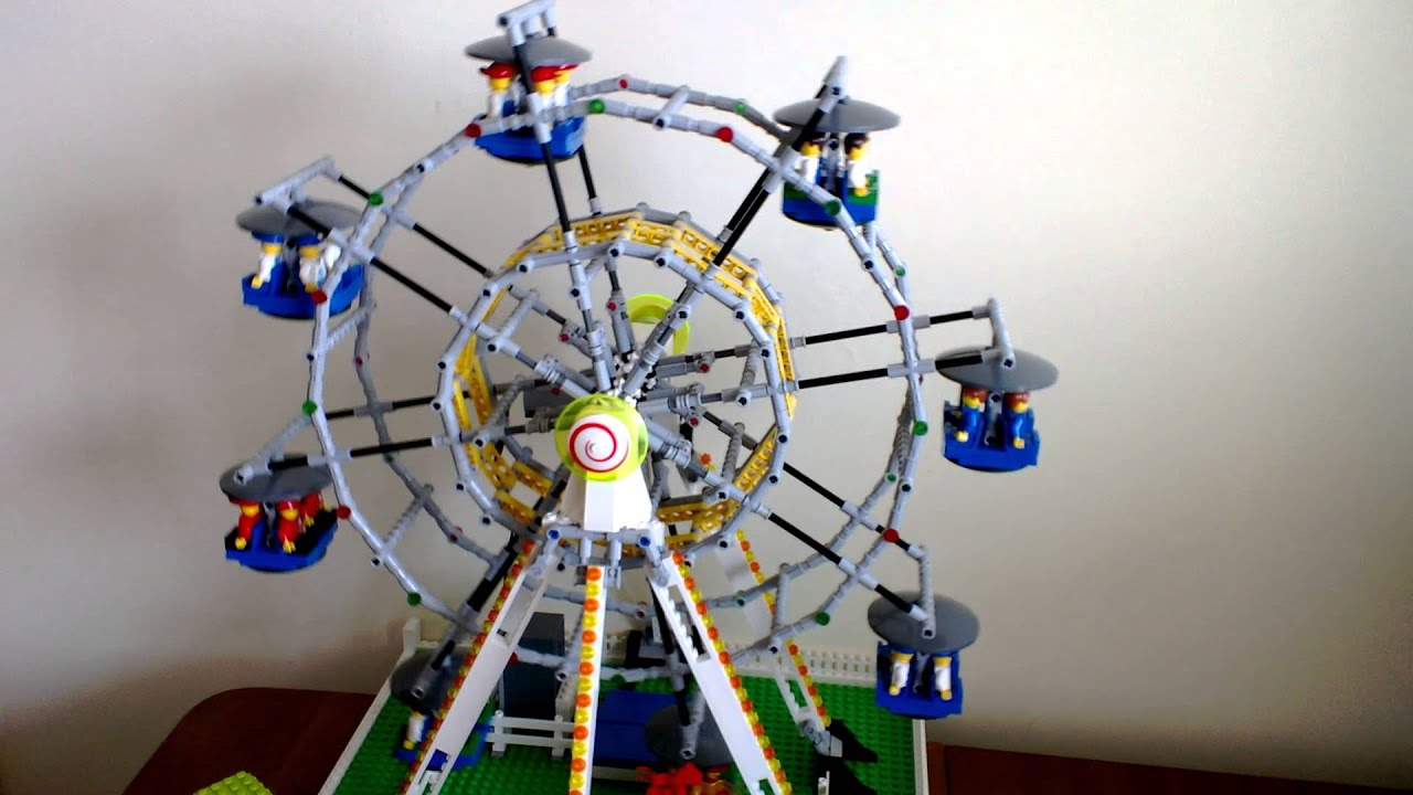 Build A Lego Ferris Wheel