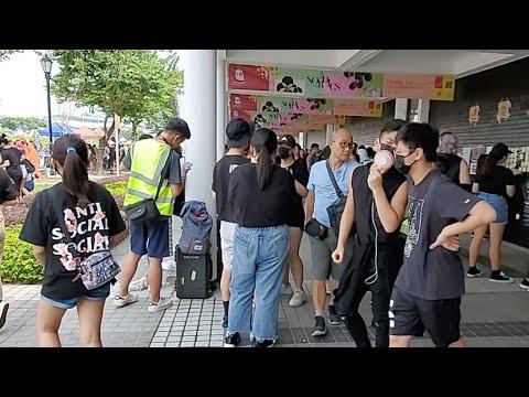 「直播」香港中學生反修例集會(1)