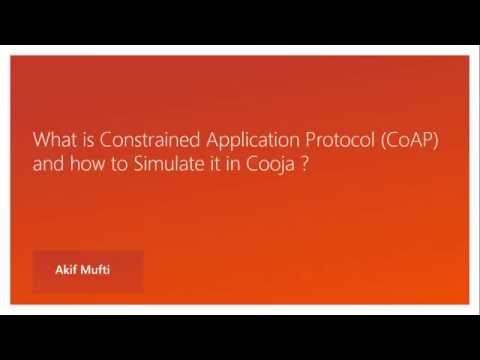 Constrained Application Protocol (CoAP) - Part 1