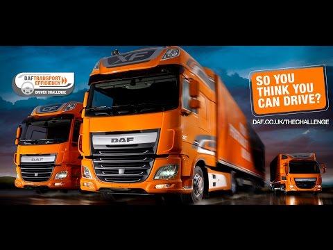 DAF Trucks UK | DAF Transport Efficiency Driver Challenge | Promotional Video