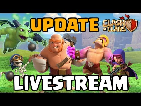 NEW UPDATE LIVESTREAM - Clash of Clans Builder Base Gameplay 2017
