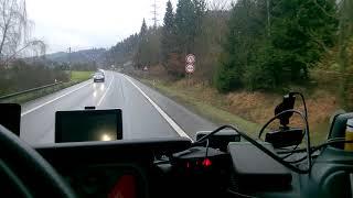 Vsetín Potůčky radar měření rychlosti