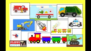 Transportations for Kindergarten | Children Learn Preschool