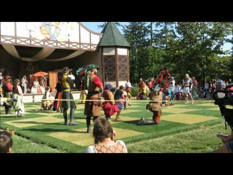 Pennsylvania Renaissance Faire Full Chess Match