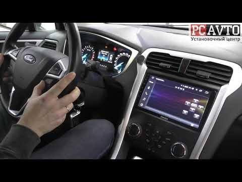 Ford Mondeo - установка камеры заднего вида Vomi FF12-CCD и Android магнитола