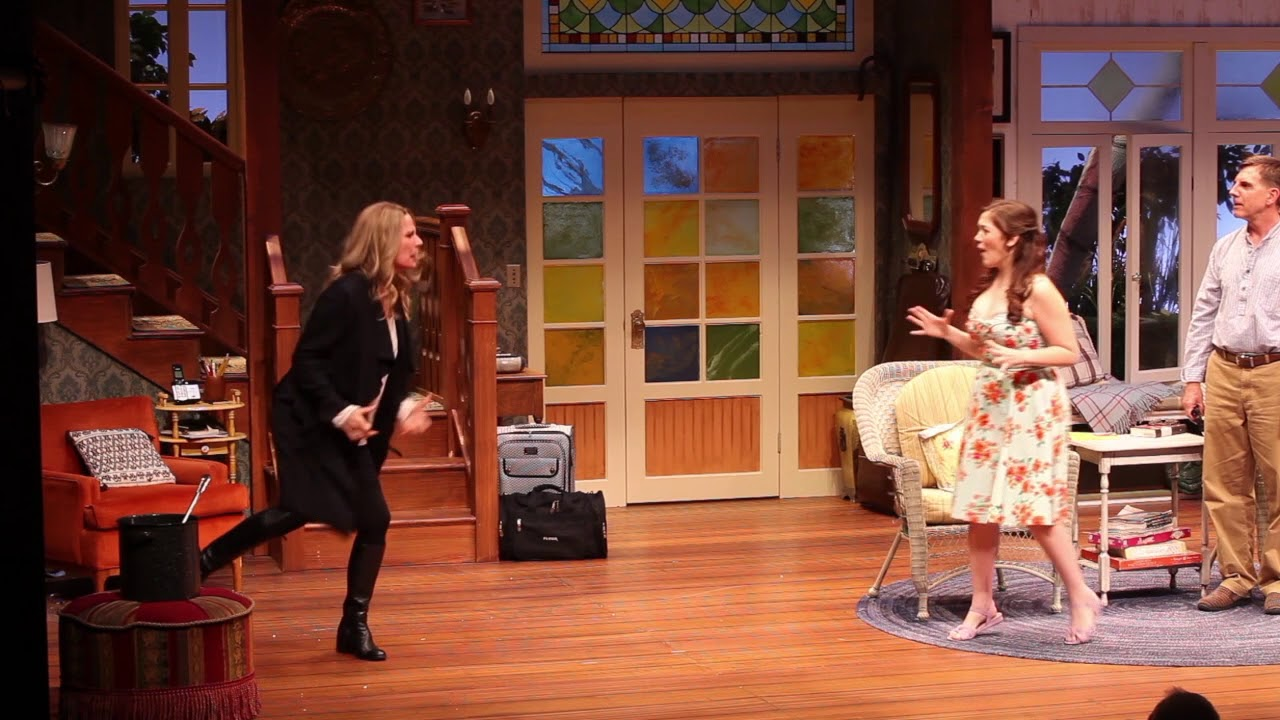 "Scenes from ""Vanya and Sonia and Masha and Spike"" at South Coast Repertory"