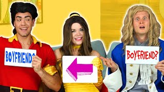 BELLE VS BEAST VS GASTON BOYFRIEND TAG FROM BEAUTY AND THE BEAST. Totally TV Parody