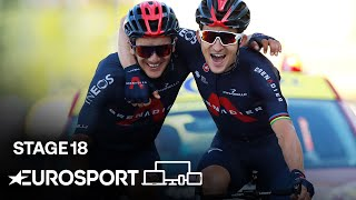 Tour de France 2020 - Stage 18 Highlights | Cycling | Eurosport