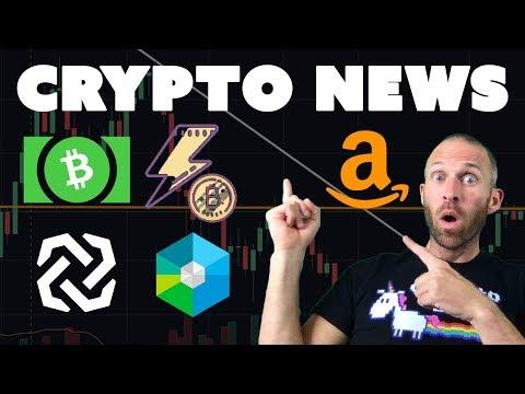 AWS Blockchain? | Tron Airdrop | $XRB Ledger? | $BCH Burn | Bytom Mainnet | Bithumb ICO