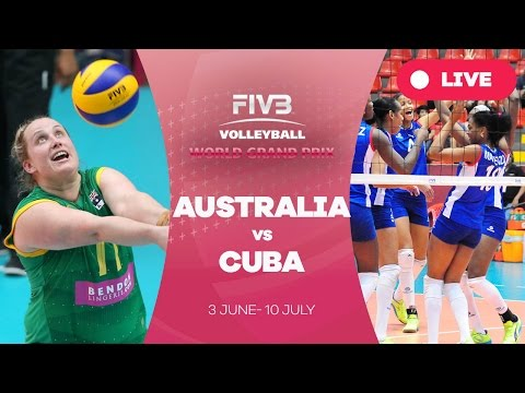 Australia v Cuba - Group 3: 2016 FIVB Volleyball World Grand Prix