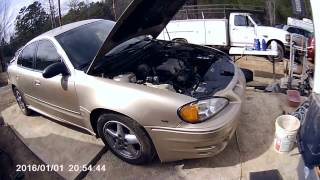 2005 pontiac grand am engine fans not working over heating
