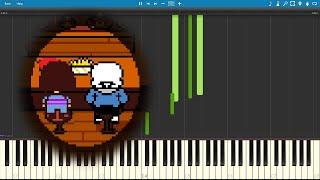 Premonition - Undertale (Piano sheet music/MIDI) (Synthesia)
