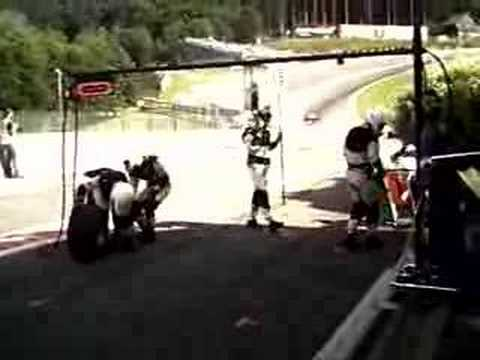 World Series by Renault Pit stop