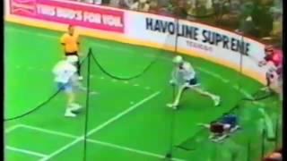 Old School Lacrosse: IBLA USA vs Canada Box 1985