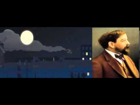"""Google celebrates the anniversary of the birth of French composer Claude Debussy """"Claude Debussy"""""""