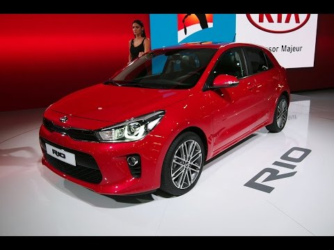 2018 Kia Rio First Look - 2016 Paris Motor Show