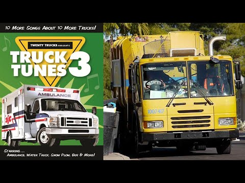 Truck Tunes 3 - FULL VIDEO - 30 mins of truck videos for kids