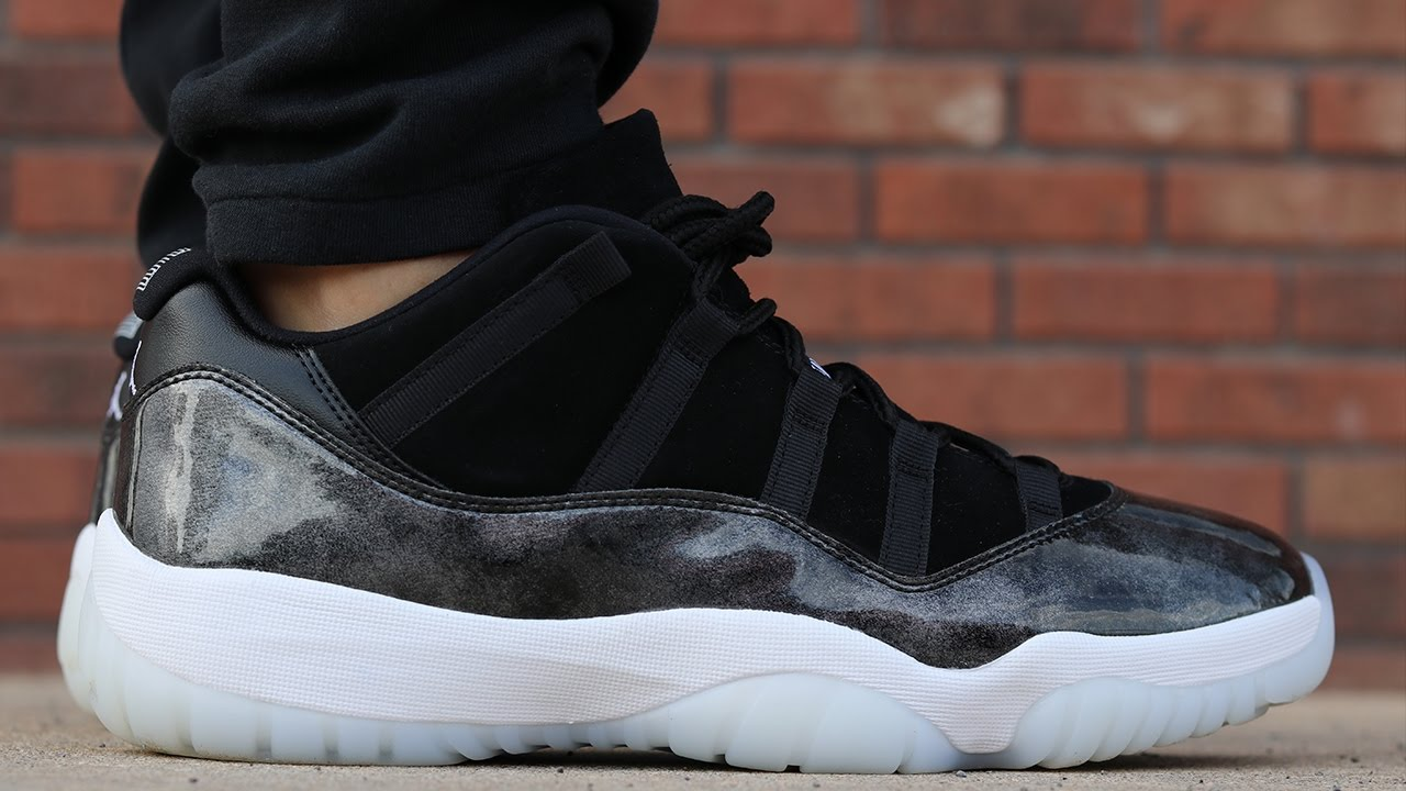 Quot Baron Quot Air Jordan 11 Low W On Foot Review Youtube