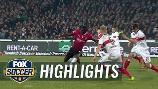 Hannover 96 vs. VfB Stuttgart | 2017-18 Bundesliga Highlights