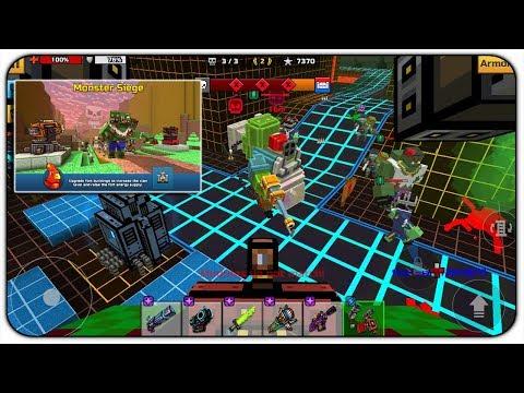 Monster Clan Siege - Pixel Gun 3D 17.0 Clan War New Update
