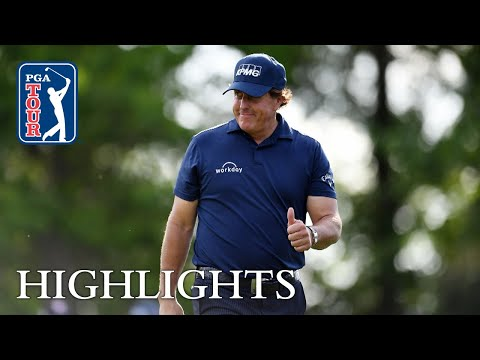 Phil Mickelson's Round 1 highlights from Houston Open