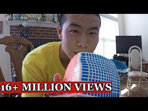13x13 Rubik's Cube solve - Time Lapse