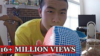 13x13 Rubik's Cube solve - Time Lapse thumbnail