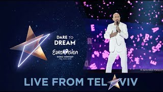 Serhat - San Marino - 2nd Rehearsal - Eurovision 2019 - Say Na Na Na (FULL Rehearsal, HD)