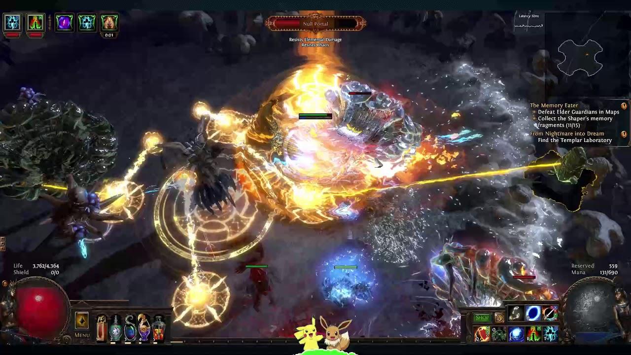 3.2 Inquisitor Wild Strike & Molten Strike Kill Elder ...