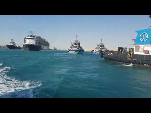 Ever Given container ship moves again after being stuck in Suez Canal for almost a week