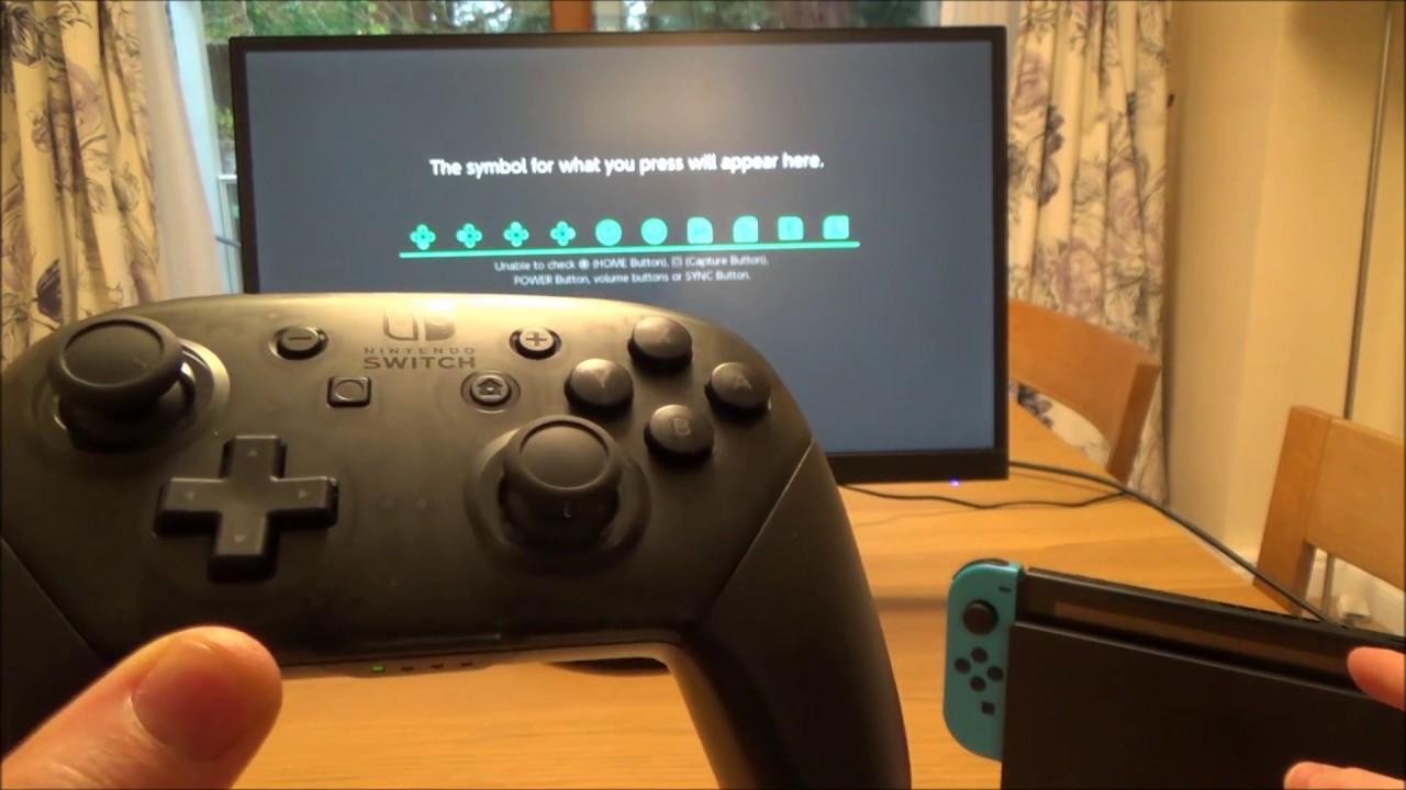 How to check buttons on Nintendo Switch Pro Controller (31)