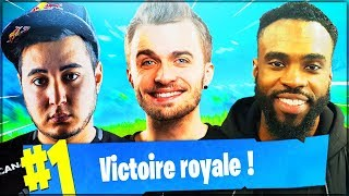 IN SQUAD WITH SQUEEZIE AND BROKEN! ► FORTNITE