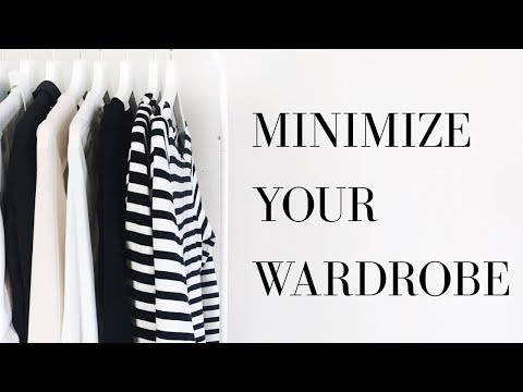 Declutter + Minimize Your Wardrobe | 5 Easy Steps