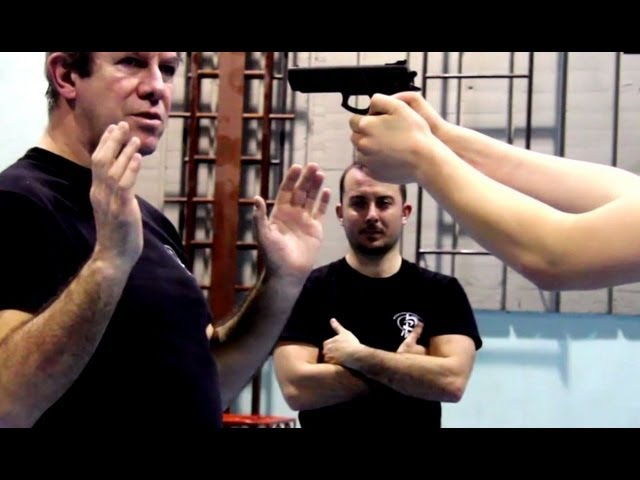 KRAV MAGA TRAINING • Fastest gun disarm (Part 2)