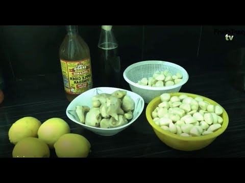 Lemon juice with Garlic and Ginger - honey-garlic-lemon-ginger-apple cider vinegar concoction''