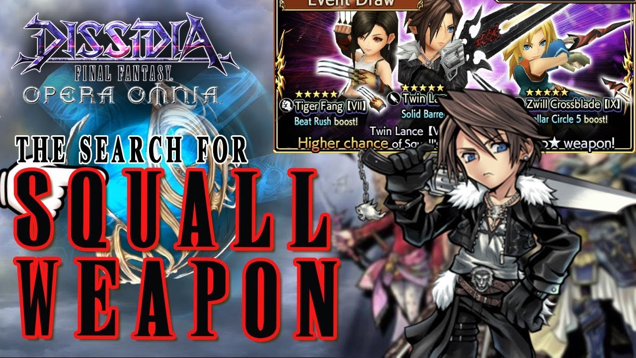 final fantasy dissidia how to get ultima weapon