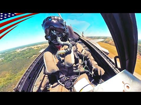 F-35 Cockpit View - Flyover Manhattan & Aerial Refueling