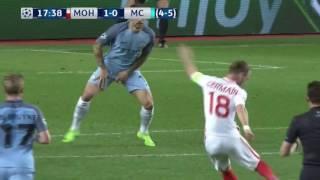 мАНЧЕСТЕР СИТИ   МОНАКО 5:3 1/8финала Обзор матча