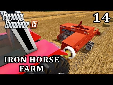 Let's Play Farming Simulator 2015 | Iron Horse Farm Episode 14