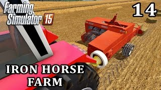 Let's Play Farming Simulator 2015 | Iron Horse Farm Episode 14 - Stafaband