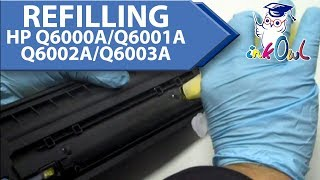 How to Refill HP Q6000A/Q6001A/Q6002A/Q6003A Cartridges (HP 1600/2600)