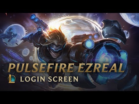 Pulsefire Ezreal | Login Screen Update - League of Legends
