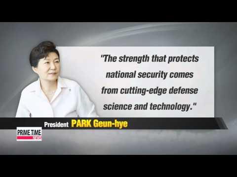 President Park observes test-fire of Seoul′s latest ballistic missile   박 대통령, 5