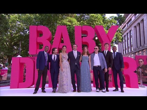 "Baby Driver (2017 Edgar Wright Crime Drama) - European Premiere in London ""Raw Footage"" (11 mins)"