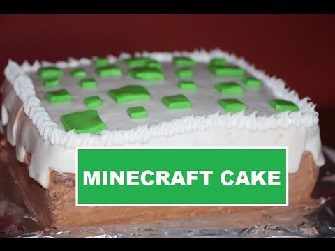Minecraft Birthday Cake Easy DIY Tutorial YouTube