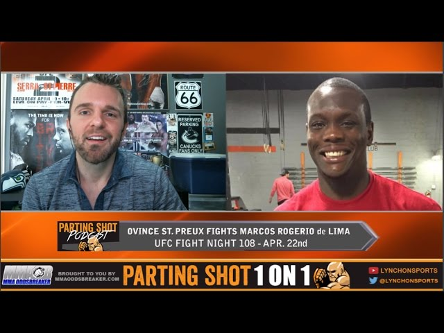 Ovince St. Preux talks UFC Nashville, Strikeforce & teammate Adam 'Primetime' Townsend