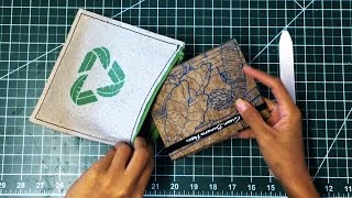 How to make a wallet from a banana tree