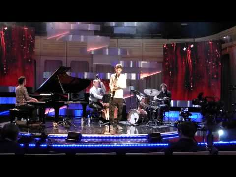 Alexander Bone performs Ralph Towner's The Glide during rehearsals for BBC Jazz Award Final 2014.