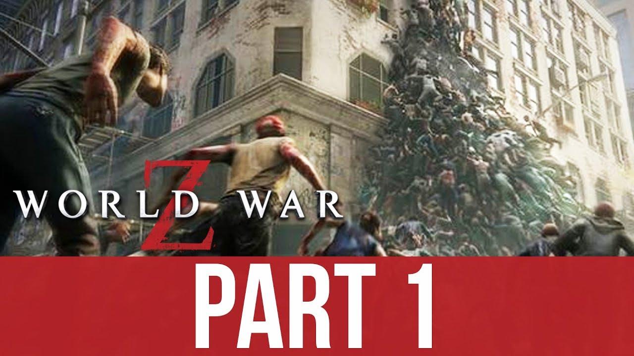 WORLD WAR Z Gameplay Komplettlösung Teil 1 - NEW YORK (CO-OP) + video